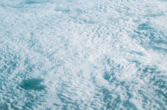 Aerial view of cloud and its shadow Royalty Free Stock Image