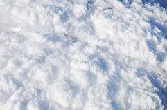 Aerial view of cloud texture Royalty Free Stock Photo