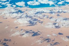 Egyptian Desert and Coast royalty free stock images