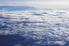 Aerial view of cloudscape Royalty Free Stock Images