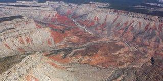 Aerial view of Colorado grand canyon, Arizona, Royalty Free Stock Photos