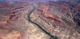 Aerial view of Colorado grand canyon, Arizona, Royalty Free Stock Photo
