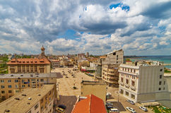 Aerial View of Constanta City Stock Photography
