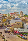 Aerial View of Constanta City Royalty Free Stock Photos