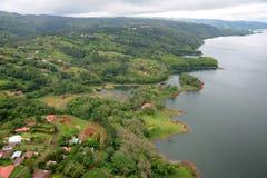 Aerial view in Costa Rica (5). Aerial view in Costa Rica. Arenal Volcano area Stock Photos