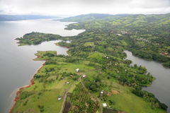 Aerial view in Costa Rica (8) Royalty Free Stock Images