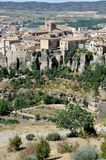 Aerial view of Cuenca, Spain Stock Photography
