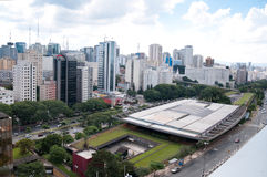 Aerial view of the cultural center of sao paulo Stock Photo