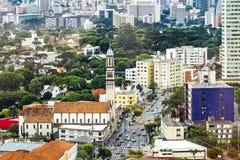 Aerial View of Curitiba, Parana, Brazil Stock Image