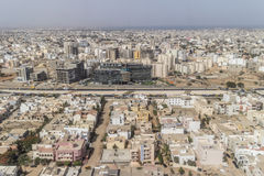 Aerial view of Dakar Stock Photography