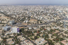 Aerial view of Dakar Royalty Free Stock Photo