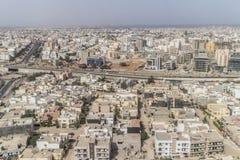 Aerial view of Dakar Stock Photography