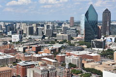 Aerial view of Dallas, Texas Royalty Free Stock Photography