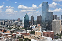 Aerial view of Dallas, Texas Stock Photography