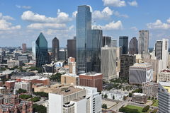 Aerial view of Dallas, Texas Stock Photo