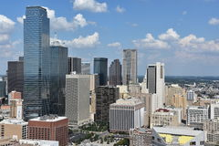Aerial view of Dallas, Texas Royalty Free Stock Images