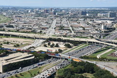 Aerial view of Dallas, Texas Royalty Free Stock Photo