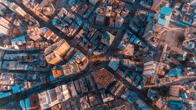 Aerial view of Dar es Salaam city, Tanzania. Aerial view of Dar es Salaam city royalty free stock image