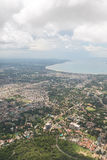 Aerial view of Dar Es Salaam Stock Photography