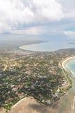 Aerial view of Dar Es Salaam Royalty Free Stock Image
