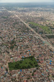 Aerial view of Dar Es Salaam Royalty Free Stock Photos