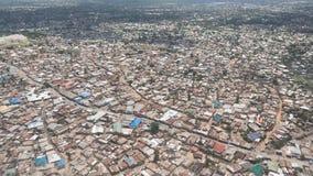 Aerial view of Dar Es Salaam Royalty Free Stock Photo