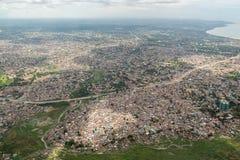 Aerial view of Dar Es Salaam Stock Photo