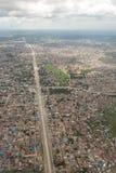 Aerial view of Dar Es Salaam Stock Images