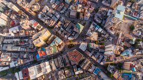 Aerial view of Dar es Salaam city, Tanzania. Aerial view of Dar es Salaam city stock photography