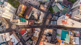 Aerial view of Dar es Salaam city, Tanzania. Aerial view of Dar es Salaam city royalty free stock photography