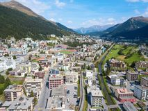 Davos royalty free stock images