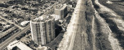 Aerial view of Daytona Beach. Stock Images