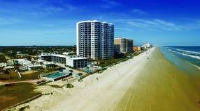 Aerial view of Daytona Beach. Royalty Free Stock Image