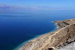 Aerial view of the Dead Sea Royalty Free Stock Image