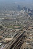 Aerial View of Denver, Colorado Stock Photos