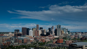 Aerial View of Denver Royalty Free Stock Photography
