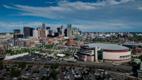 Aerial View of Denver Stock Photos