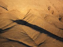 Aerial view of desert Stock Photo