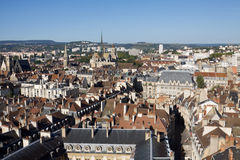 Aerial view of Dijon city in Burgundy, France Royalty Free Stock Image