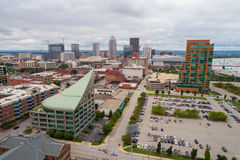 Downtown Des Moines Iowa USA Royalty Free Stock Images