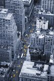 Yellow Manhattan taxis Royalty Free Stock Images