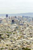 Aerial view of Downtown San Francisco Stock Photography
