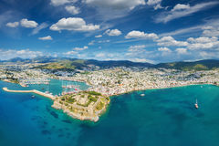 Aerial view from drone of Bodrum, Turkey Royalty Free Stock Image