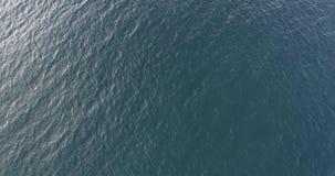 Ocean waves. Aerial view. Aerial drone footage of ocean waves stock video