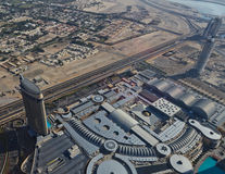 Aerial view of The Dubai Mall Stock Images