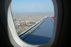 Aerial view. Dubai, United Arab Emirates (UAE) Royalty Free Stock Image