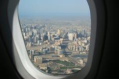 Aerial view. Dubai, United Arab Emirates Royalty Free Stock Image