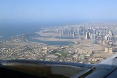 Aerial view. Dubai, United Arab Emirates Royalty Free Stock Photography