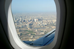 Aerial view. Dubai, United Arab Emirates (UAE) Royalty Free Stock Photo