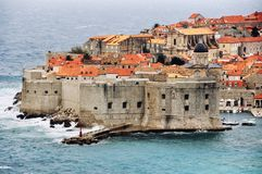 Aerial view of Dubrovnik Stock Photos